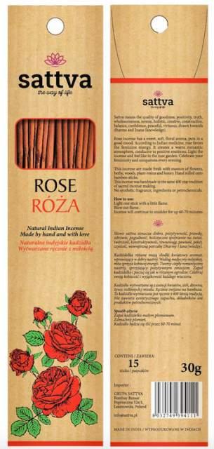 Füstölő, Rózsa