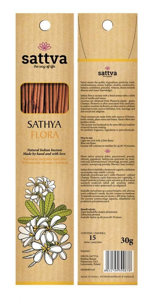 Füstölő, Sathya virág