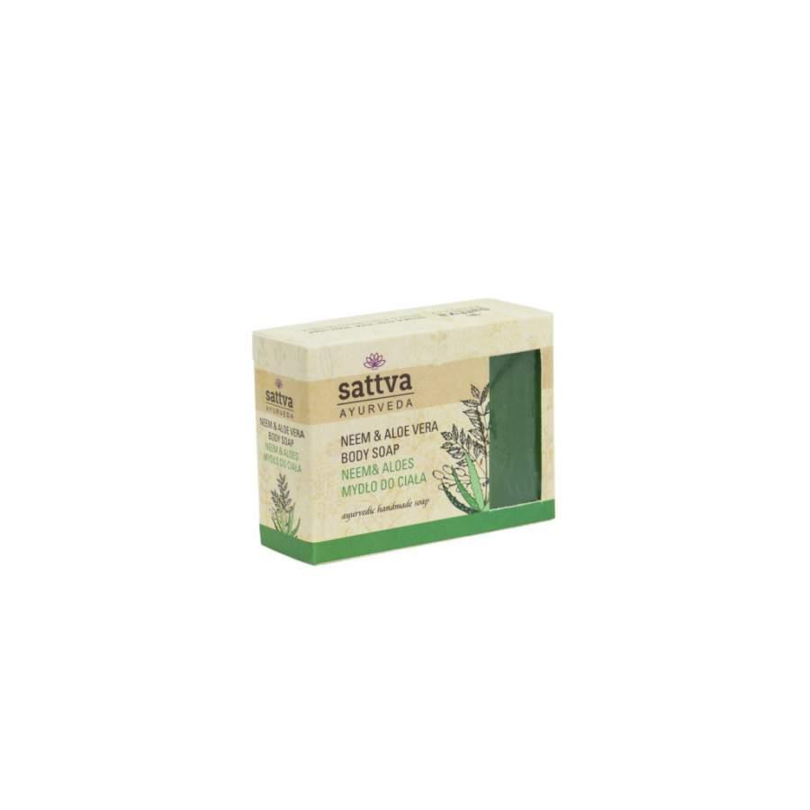 Ayurvedikus szappan, neem & aloe 125 g